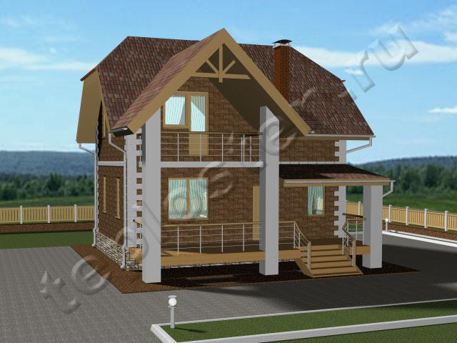Construction of two-storey houses