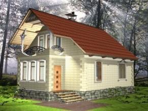 Проекты домов из теплоблок